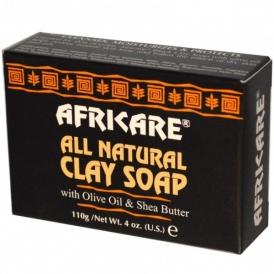 Африканское чёрное мыло Africare — 110 г.