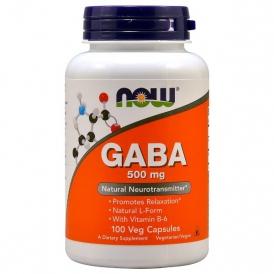 Гамма-аминомасляная кислота - 100 капсул по 500 мг.