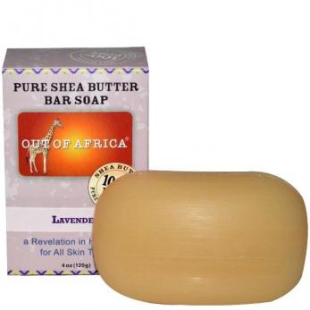 Мыло с маслом Ши и лавандой