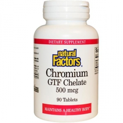 Kroom GTF Chelate Natural Factors – kaalulangetamiseks