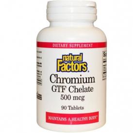 Хром хелат GTF - 90 таблеток по 500 мкг.
