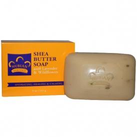 Натуральное мыло с маслом Ши и лавандой