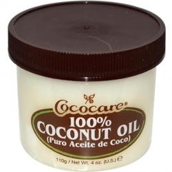 Кокосовое масло для кожи и волос — 110 г.