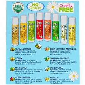 Состав натурального бальзама для губ производства компании Sierra Bees