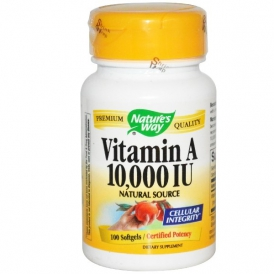 Витамин A или Ретинол - 100 капсул