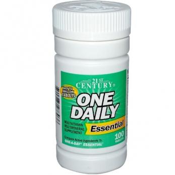 Поливитамины - комплекс 100% витаминов