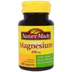 Магний — 100 таблеток по 250мг.