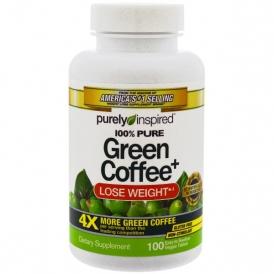 Экстракт зеленого кофе — 100 таблеток по 800 мг.