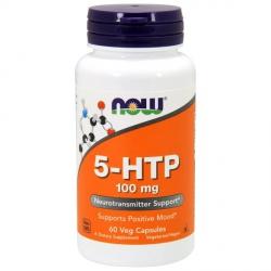 Натуральный Антидепрессант 5-HTP — 60 капсул по 100 мг.