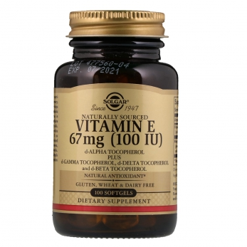 Витамин Е - укрепит сосуды