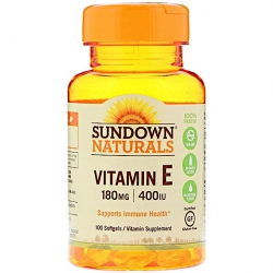 Витамин E - останови старение клеток
