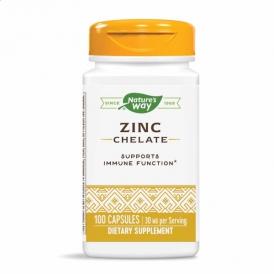 Цинк Хелат - 100 капсул по 30 мг.
