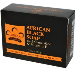Aфриканское черное мыло