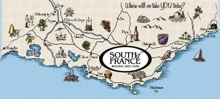 Компания South of France лого