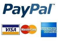 Оплата заказа через PayPal