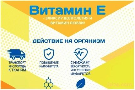 Витамин Е для женского здоровья